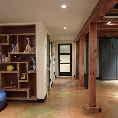 Refinishing Basement - Basement Remodeling Michigan City, Mississippi